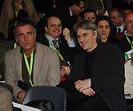 MASSIMO GHINI E MIMMO CALOPRESTI<br /> ASSEMBLEA NAZIONALE PARTITO DEMOCRATICO<br /> FIERA DI ROMA - 2009