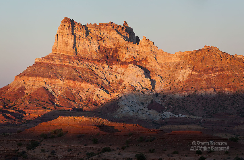 Temple Butte, San Rafael Swell, Utah
