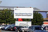 Pictured: Withybush General Hospital, Haverfordwest, Pembrokeshire. STOCK PICTURE<br /> Re: Seven-year-old Elly Neville who was born despite doctors saying her parents would not be able to have any more children, has raised over £150,000 for the cancer ward that treated her father.<br /> Her parents Lyn and Ann had been told they were unlikely to have more children after he underwent a bone marrow transplant in 2005. <br /> Mr Neville subsequently spent a lot of time on the Ward 10 cancer facility at Withybush Hospital in Haverfordwest, Pembrokeshire.<br /> But four years later they were stunned when his painter and decorator wife Ann fell pregnant again.