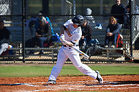 Connor Bradley (16) of Hayesville, North Carolina during the Baseball Factory All-America Pre-Season Rookie Tournament, powered by Under Armour, on January 14, 2018 at Lake Myrtle Sports Complex in Auburndale, Florida.  (Michael Johnson/Four Seam Images)