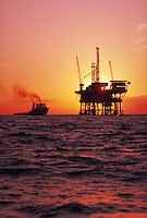 Oil platforms in the Santa Barbara Channel