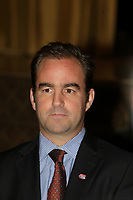 Montreal. CANADA -<br /> Geoff Molson, President & CEO of Club de hockey Canadien & evenko deliver a speech to the Canadian Club of Montreal, on  September 22, 2014.<br /> <br /> File Photo : Agence Quebec Pressse  - Pierre Roussel