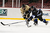 Mike Preston (Army - 29), Tyler Deresky (Bentley - 11) - The Bentley University Falcons defeated the Army West Point Black Knights 3-1 (EN) on Thursday, January 5, 2017, at Fenway Park in Boston, Massachusetts.The Bentley University Falcons defeated the Army West Point Black Knights 3-1 (EN) on Thursday, January 5, 2017, at Fenway Park in Boston, Massachusetts.