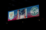 St Johnstone v Hibs…23.01.21   Hampden     BetFred Cup Semi-Final<br />The scoreboard before kick off<br />Picture by Graeme Hart.<br />Copyright Perthshire Picture Agency<br />Tel: 01738 623350  Mobile: 07990 594431