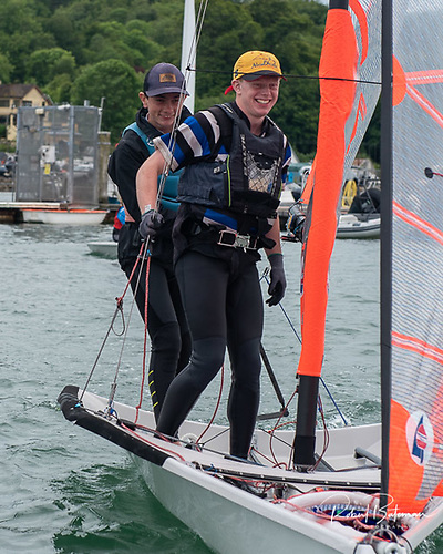 29er skiff duo, James Dwyer and Oisin MacSweeney were the winners of the RCYC PY1000 dinghy race
