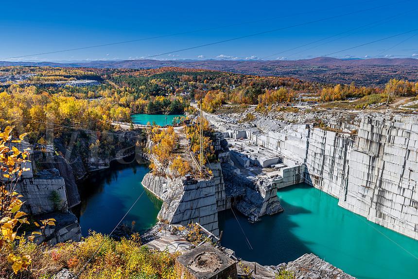 Rock of Ages granite quarry.