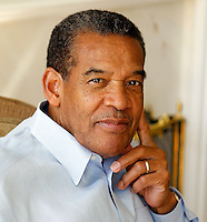 Earnst Edwards photographed in Charlottesville, Virginia for Financial Executive Magazine. Photo/Andrew Shurtleff