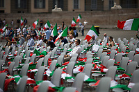 04.07.2020 - Insieme Per L'Italia Del Lavoro - Italian Centre-Right Parties Demo In Rome