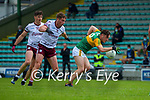Paudie Clifford, Kerry in action against Gary O'Donnell, Galway during the Allianz Football League Division 1 South Round 1 match between Kerry and Galway at Austin Stack Park in Tralee.