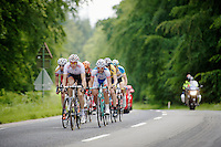 breakaway group<br /> <br /> Ster ZLM Tour 2014