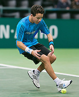 10-02-14, Netherlands,Rotterdam,Ahoy, ABNAMROWTT,Ballboy<br /> Photo:Tennisimages/Henk Koster