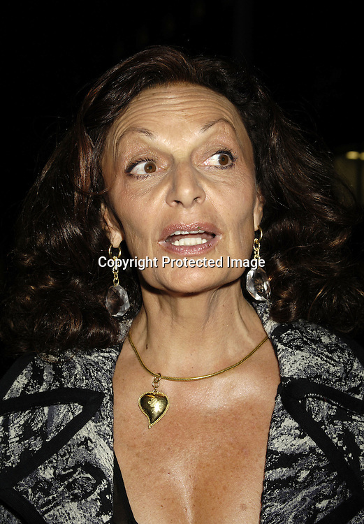 Diane Von Furstenberg ..at The Museum of Modern Art for a party for Prince Charles and The Duchess of Cornwall on November 1, 2005. ..Photo by  Robin Platzer, Twin Images