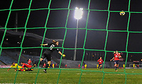 2018013 - LILLE , FRANCE : LOSC's goalkeeper Elisa Launay (16) pictured during the women soccer game between the women teams of Lille OSC and Paris Saint Germain  during the 13 th matchday for the Championship D1 Feminines at stade Lille Metropole , Saturday 13th of January ,  PHOTO Dirk Vuylsteke | Sportpix.Be