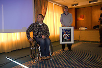 18-10-08, Oosterbeer, Huldiging Paralympic tennissers
