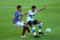 16th November 2020; Couto Pereira Stadium, Curitiba, Brazil; Brazilian Serie A, Coritiba versus Bahia; Robson of Coritiba and Gregore of Bahia