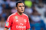 Goalkeeper Keylor Navas of Real Madrid looks on during their La Liga 2017-18 match between Real Madrid and Valencia CF at the Estadio Santiago Bernabeu on 27 August 2017 in Madrid, Spain. Photo by Diego Gonzalez / Power Sport Images