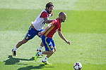 Isco Alarcon and David Silva  during training of the spanish national football team in the city of football of Las Rozas in Madrid, Spain. August 30, 2017. (ALTERPHOTOS/Rodrigo Jimenez)