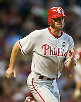 Moyer, Jamie 6075.jpg Philadelphia Phillies at Houston Astros. Major League Baseball. September 7th, 2009 at Minute Maid Park in Houston, Texas. Photo by Andrew Woolley.