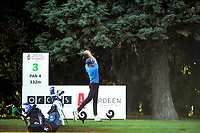 Logan Hooper. Day one of the Brian Green Property Group NZ Super 6s Manawatu at Manawatu Golf Club in Palmerston North, New Zealand on Thursday, 25 February 2021. Photo: Dave Lintott / lintottphoto.co.nz