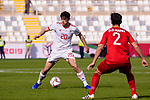 Sardar Azmoun of Iran (L) in action during the AFC Asian Cup UAE 2019 Group D match between Vietnam (VIE) and I.R. Iran (IRN) at Al Nahyan Stadium on 12 January 2019 in Abu Dhabi, United Arab Emirates. Photo by Marcio Rodrigo Machado / Power Sport Images