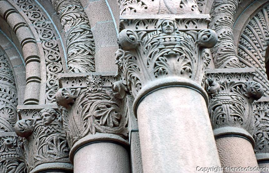 H. H. Richardson: Albany City Hall. Detail.