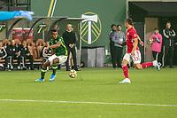 Portland, Oregon - Sunday September 18 2019: The Portland Timbers vs Red Bull New York at Providence Park