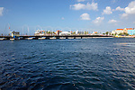 View Of Floating Foot Bridge Connecting Punda & Otrobanda