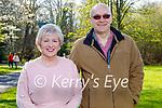 Enjoying a stroll in the Killarney National park on Saturday, l to r: Elaine and John O'Loughlin.