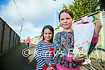 Katie Laide who wrote a letter to Kerry's Eye about dog poo in Tralee pictured here with her sister Katie.