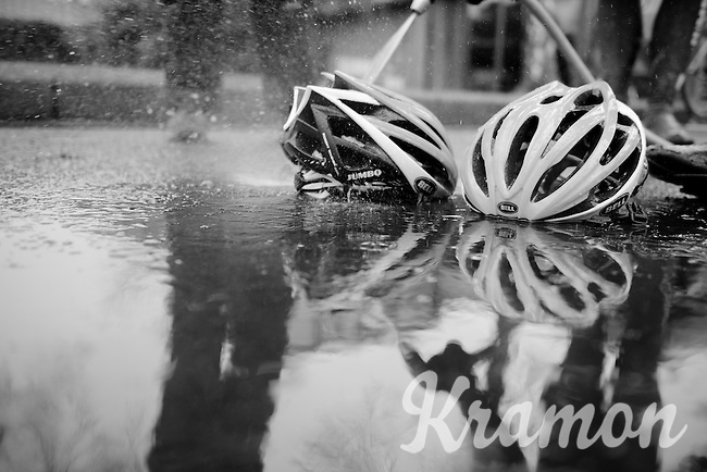 post training wash<br /> <br /> 2015 Omloop Het Nieuwsblad recon by Team LottoNL-Jumbo