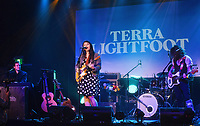 17 October 2020 - Canadian Polaris Music Prize and JUNO nominated singer-songwriter Terra Lightfoot 'Consider the Speed' album release livestream concert.  Bridgeworks, Hamilton, Ontario, Canada. Photo Credit: Brent Perniac/AdMedia
