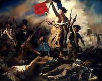 Liberty Leading People - by Eugene Delacroix, 1830