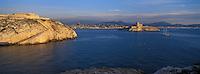 Europe/France/Provence-Alpes-Côte d'Azur/13/Bouches-du-Rhône/Marseille : Les îles du Frioul - Hôpital Caroline