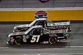 #51: Brandon Jones, Kyle Busch Motorsports, Toyota Tundra Delta Faucet/Menards.