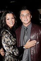 Sophie Chiasson and her brother at her book launch, 2006-09-21.<br /> <br /> she is a weather presentator on TVA who won a diffamtion lawsuit against Quebec City Genex radio host Jeff Fillion<br /> Photo by P. Roussel / Images Distribution