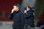 St Johnstone v Dundee….03.04.19   McDiarmid Park   SPFL<br />Dundee boss Jim McIntyre<br />Picture by Graeme Hart. <br />Copyright Perthshire Picture Agency<br />Tel: 01738 623350  Mobile: 07990 594431