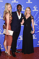 Ore Oduba and Joanne Clifton<br /> celebrating the winners in this year's National Lottery Awards, the search for the UK's favourite Lottery-funded projects.  The glittering National Lottery Stars show, hosted by John Barrowman, is on BBC One at 10.45pm on Monday 12 September.<br /> <br /> <br /> ©Ash Knotek  D3151  09/09/2016