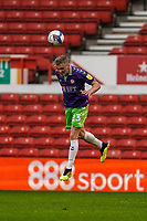 3rd October 2020; City Ground, Nottinghamshire, Midlands, England; English Football League Championship Football, Nottingham Forest versus Bristol City; Taylor Moore of Bristol City heads out of defence