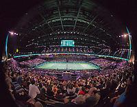 Februari 15, 2015, Netherlands, Rotterdam, Ahoy, ABN AMRO World Tennis Tournament, Final: Tomas Berdych (CZE) - Stan Wawrinka (SUI) overall vieuw<br /> Photo: Tennisimages/Henk Koster