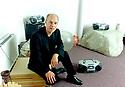 Brian Eno, musician in his studio 4/00. CREDIT Geraint Lewis