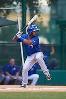 Toronto Blue Jays Deiferson Barreto (6) during an instructional league game against the Atlanta Braves on September 30, 2015 at the ESPN Wide World of Sports Complex in Orlando, Florida.  (Mike Janes/Four Seam Images)