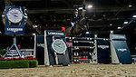 Michael Whitaker of United Kingdom rides Viking in action during the Longines Grand Prix as part of the Longines Hong Kong Masters on 15 February 2015, at the Asia World Expo, outskirts Hong Kong, China. Photo by Victor Fraile / Power Sport Images