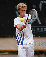 August 8, 2014, Netherlands, Rotterdam, TV Victoria, Tennis, National Junior Championships, NJK,   Moichiel de<br /> Photo: Tennisimages/Henk Koster