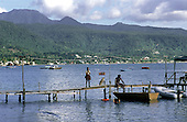 DOMINICA: Portsmouth, in the north-west of the island, is a popular anchorage for yachts cruising the Caribbean.