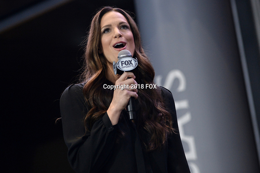 BROOKLYN, NY - DECEMBER 20: Heidi Androl, American sports reporter, attends the Fox Sports and Premier Boxing Champions press conference for the December 22 Fox PBC Fight Night at the Barclay Center on December 20, 2018 in Brooklyn, New York. (Photo by Anthony Behar/Fox Sports/PictureGroup)
