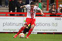 Greg Tansey of Stevenage shoots wide<br />  - Stevenage v Carlisle Untied - Sky Bet League 1 - Lamex Stadium, Stevenage - 21st September, 2013<br />  © Kevin Coleman 2013