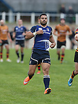 Leinster centre Ben Te'o<br /> British & Irish Cup<br /> Carmarthen Quins v Leinster A<br /> Carmarthen Park<br /> 25.10.14<br /> ©Steve Pope-SPORTINGWALES