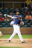 Salt River Rafters Christin Stewart (20), of the Detroit Tigers organization, during the Bowman Hitting Challenge on October 8, 2016 at the Salt River Fields at Talking Stick in Scottsdale, Arizona.  (Mike Janes/Four Seam Images)