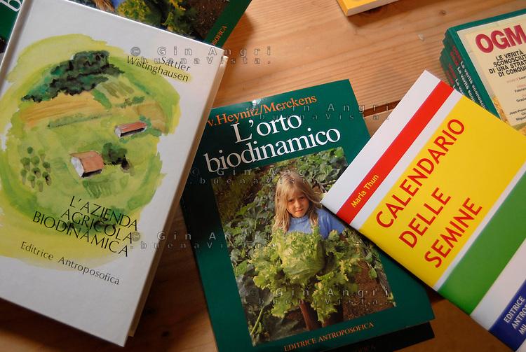 cascina Pirola, a Zelata di Bereguardo (PV), Agricoltura Biodinamica, che nasce dalla filosofia antroposofica di Rudolf Steiner . Calendario semine, libri agricoltura biodinamica