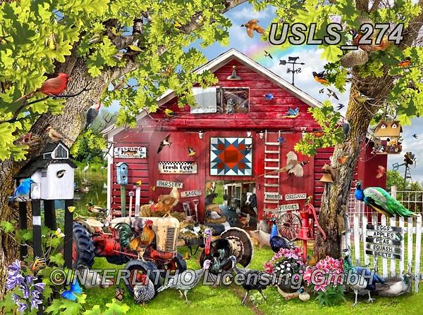 Lori, LANDSCAPES, LANDSCHAFTEN, PAISAJES, paintings+++++Pretty Boys_72_2014,USLS274,#l#, EVERYDAY ,puzzle,puzzles